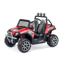 Электромобиль Багги Peg-Perego Polaris Ranger RZR (2х местный, колеса накладка резина, скорость до 10 км/ч, музыка)